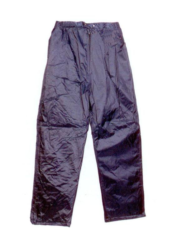 Pantalon impermeable nylon pvc azul