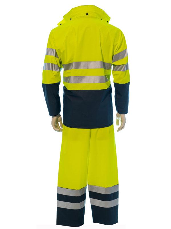 Pantalón impermeable de alta vibilidad modelo 2h m10 trivi