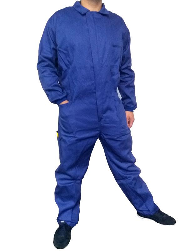 Buzo azulina algodon 100% esp. de 290 gr./m2 mod. ead