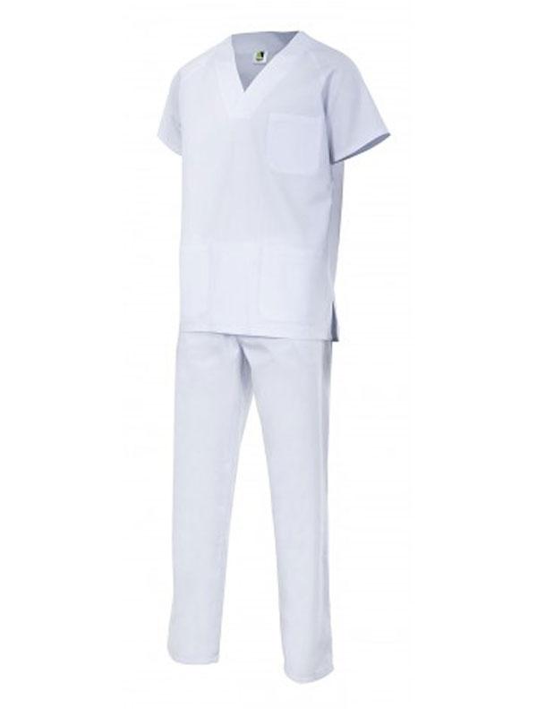 Conjunto pijama serie 800 color blanco