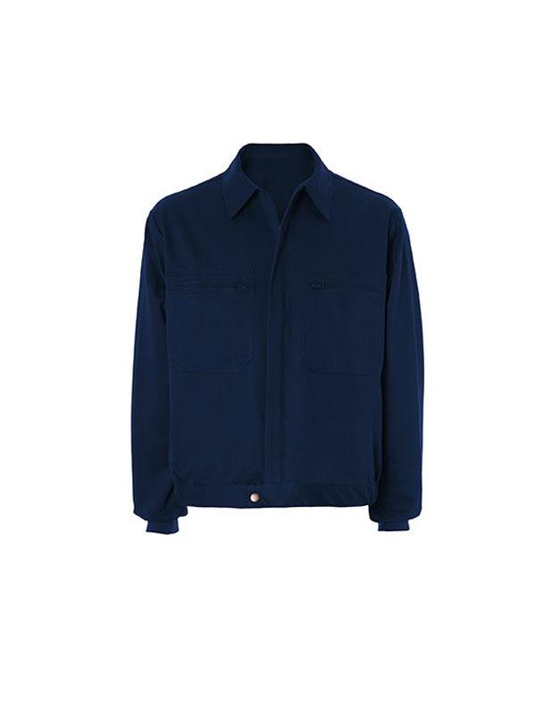 Cazadora azul marino 100% algodón 2 bol. mod. s